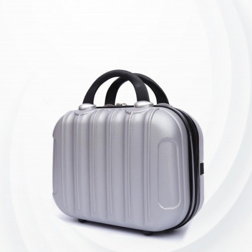 Hard Case Protective Hand Carry Luggage - Silver