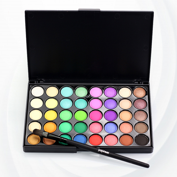 35 Shades Different Colors Eye Shadow Palette - Two