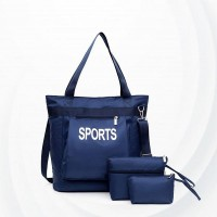 Large-capacity Lightweight Waterproof Bag Set - Blue