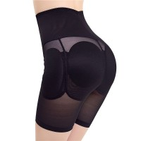 Fake Ass Buttocks Padded Thick Women Hips Panties - Black