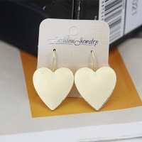 Heart Shape Luxury Tops Party Earrings - Golden