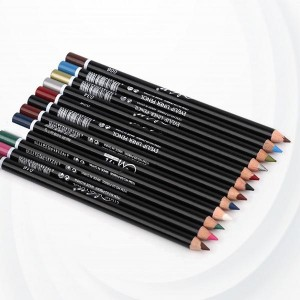 12-color Waterproof Non-smudge Eyeliner - Multi Color