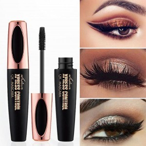Double-head Curl Thick Anti-bloom Waterproof Mascara