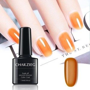 Beautiful Nail UV LED Nail Polish Color Coat - Orange