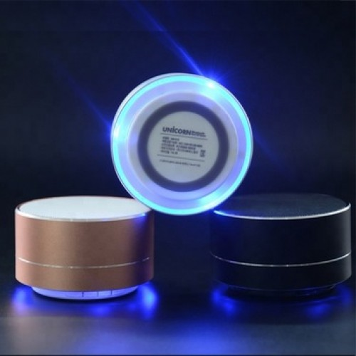 Rechargeable Picnic Good Quality Bluetooth Speaker - Golden