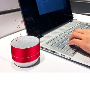 Rechargeable Picnic Good Quality Bluetooth Speaker - Red