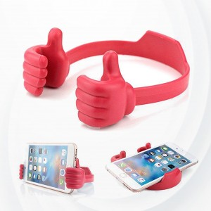 Universal flexible Desktop Stand For Mobile and iPad - Red
