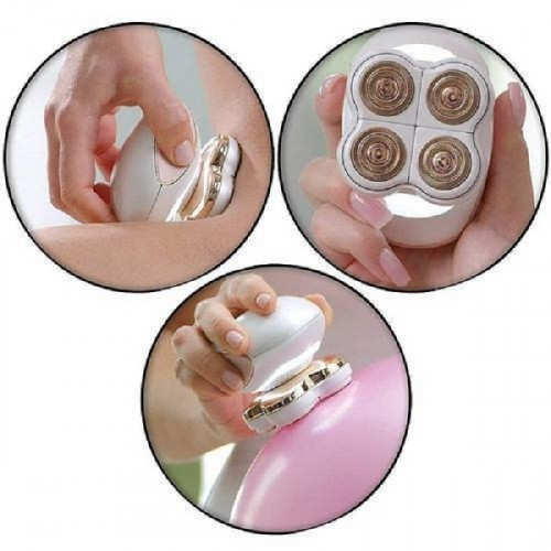 Painless Body Hair Remover for Girls - White