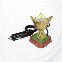 Car Incense Electric Bakhoor - Golden