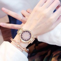 Ladies Fashion Star Watch - Rose Gold