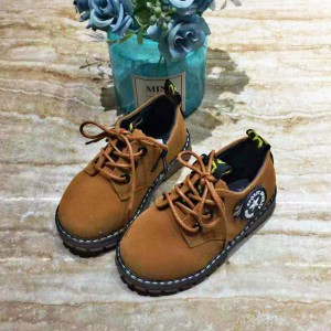 Short Martin Boots Casual Shoes For Boys And Girls - Khaki
