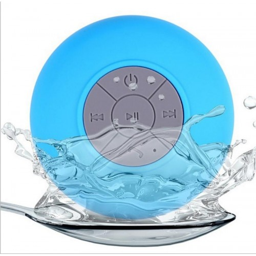 Outdoor Rechargeable Stereo Music Bluetooth Speakers - Blue