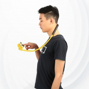 Universal 360 Rotation Flexible Phone Selfie Holder - Yellow