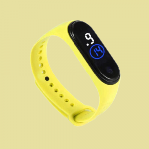 Led Sports Electronic Watch - Yellow