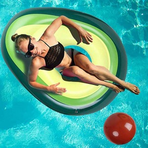 Avocado swimming ring For Beach Sports - Green