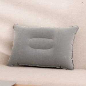 Travel Portable Inflatable Pillow - Grey