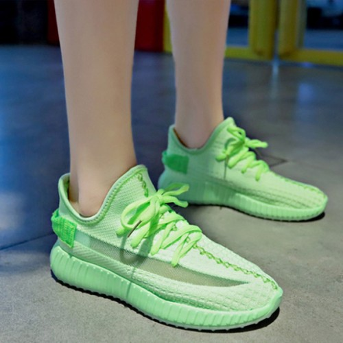 Breathable Casual Summer Running Sports Sneakers - Green