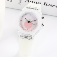 Waterproof Luminous Silicone Sports Kids Watches - White